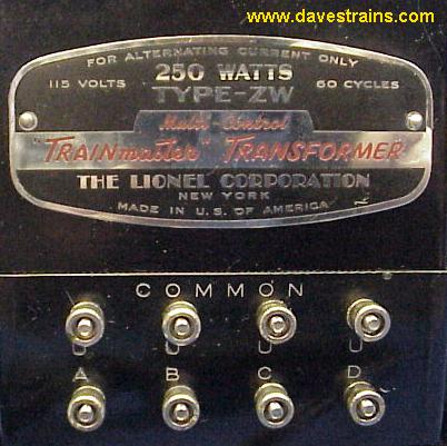 ZW250w0109d lionel zw lionel kw transformer wiring diagram at nearapp.co