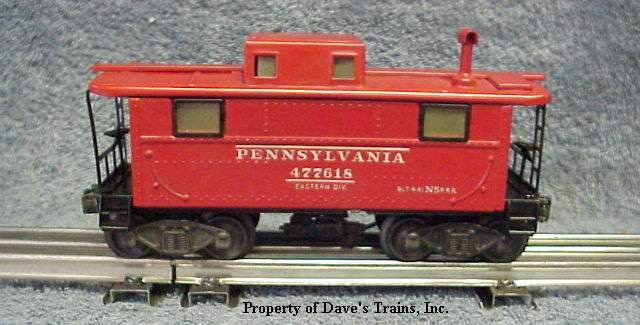 Photo of a 2457 N5 Caboose with steps & two couplers