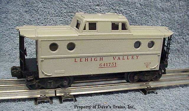 Photo of a 6417 Lehigh Valley N5c Caboose