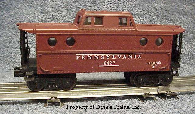 Photo of a 6437 Pennsylvania N5c Caboose