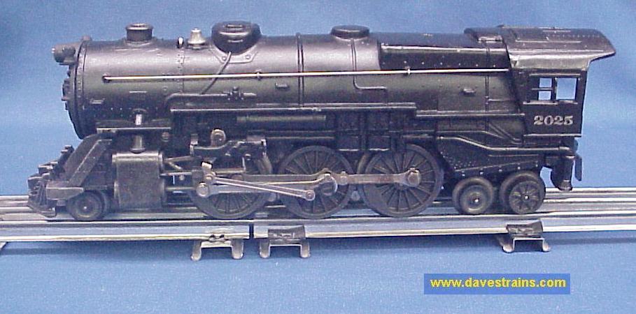 2025v52L1 dave's trains, inc postwar lionel steam engines & tenders  at creativeand.co