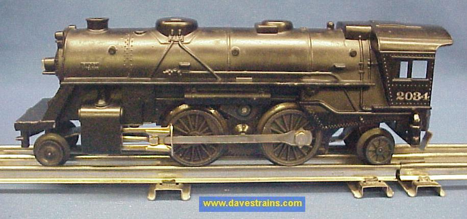2034SE1 dave's trains, inc postwar lionel steam engines & tenders  at n-0.co