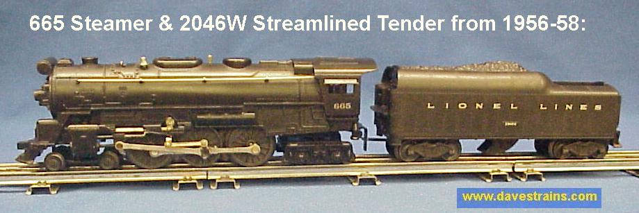 dave s trains inc postwar lionel steam engines tenders e yes 325