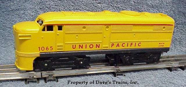 Photo of a 1065 Union Pacific Alco A unit