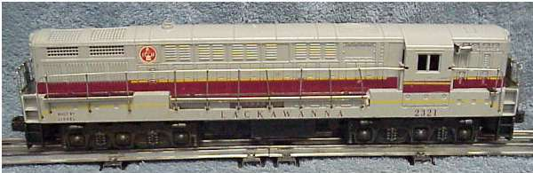 Photo of a 2321 Lackawanna FM with gray roof
