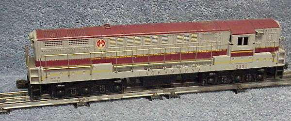 Photo of a 2321 Lackawanna FM with maroon roof