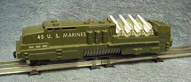 Photo of the left side of a 45 USMC Missile Launcher