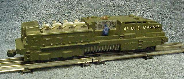 Photo of the right side of a 45 USMC Missile Launcher