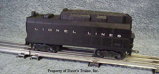 Photo of a 6026W Tender