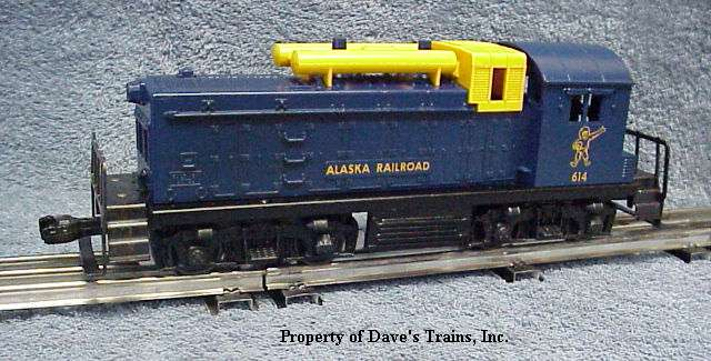 Photo of the common version of a 614 Alaska NW2 Switcher