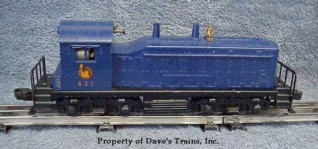 Photo of a 621 JC Yard Switcher