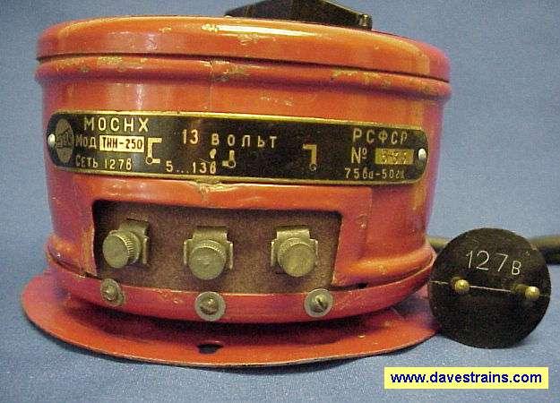 Photo of 127-volt Transformer Back