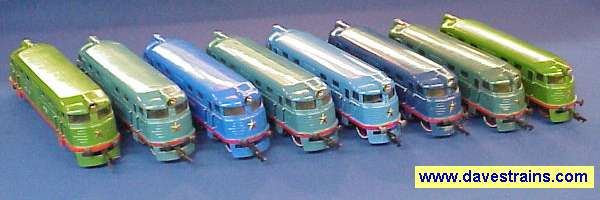 Photo of 8 Locos