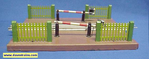 Photo of Soviet Gate Crossing with Copper-brown Base