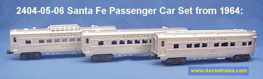 Dave S Trains Inc Postwar Lionel Passenger Cars