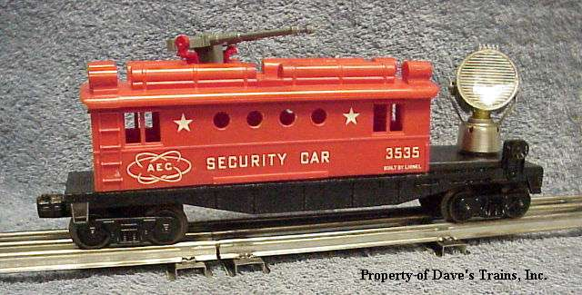 Photo of a 3535 AEC Security Car