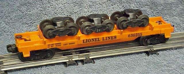 Photo of a 6362-55 Rail Truck Car (serif lettering)