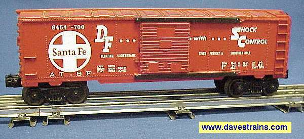 Photo of a 6464-700 Santa Fe Boxcar