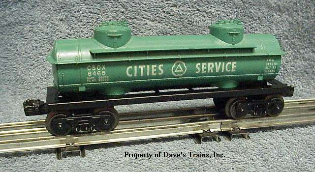 Photo of a 6465 Cities Service Tank Car