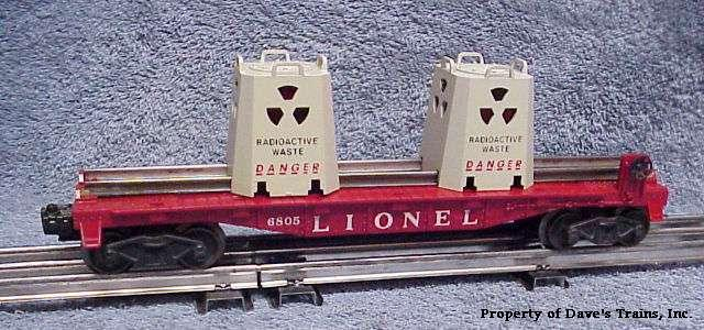 Photo of a 6805 Atomic Waste Car